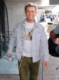 Billy Idol Photos - Billy Idol Arrives in Washington, DC - Zimbio