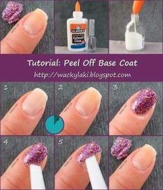 Porque ensopar as unhas com acetona para retirar o esmalte com glitter não faz muito bem para os dedos.