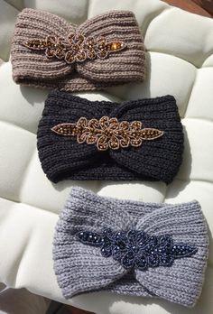 Women's Shrug Cape Shoulder Warmer Mini Poncho Hand Knit Sweater Many Colors available - arianna Baby Turban Headband, Newborn Headbands, Winter Headbands, Headbands For Women, Knit Headband Pattern, Knitted Headband, Stretchy Headbands, Ear Warmers, Crochet Baby