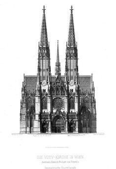 The Votivkirche, Vienna