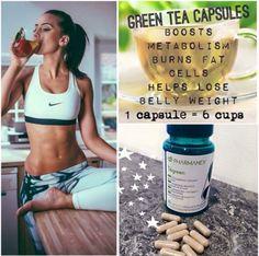 Tegreen Capsules, Green Tea Capsules, Tegreen Nu Skin, Galvanic Spa, Beauty Guide, Boost Metabolism, How To Increase Energy, Anti Aging Skin Care, How To Run Longer