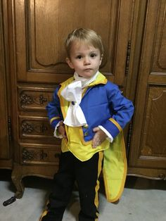 Pin for Later: Think Outside the Box With 26 Handmade Disney Halloween Costumes The Beast Your dapper little dude could pose as either the Beast or the Prince in this full Beauty and the Beast costume ($70).
