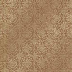 Brewster Home Fashions Alhambra Sultana Lattice x Geometric Embossed Wallpaper Color: Copper