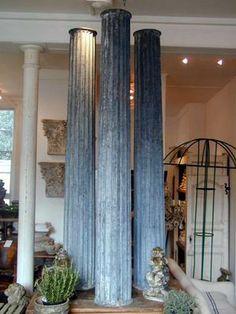 Zinc Pillars