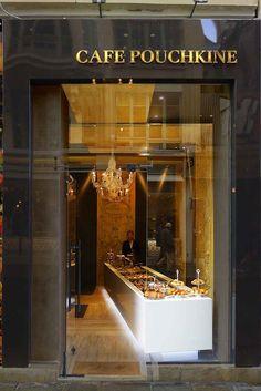 Cafe Pouchkine in Paris (the Marais district) The Paris Scene - Slideshow - WWD.com