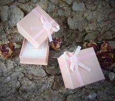 5 Stück Geschenkbox Schachtel rosé 4x4x3cm von SackundPack auf Etsy, €2.50