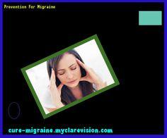 Prevention For Migraine 203449 - Cure Migraine