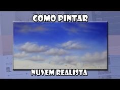 Como pintar nuvens - YouTube