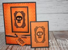 Halloween Cards - His and Hers Stamping - September 2013 Stampin' Up! Artisan Design Team - Jeanna Bohanon
