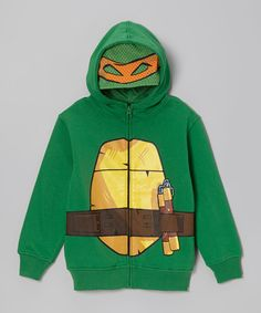 Take a look at this Green TMNT Zip-Up Hoodie - Toddler & Kids on zulily today!