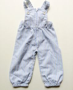 Check out this listing on Kidizen: Petit Lapin Striped Overalls #shopkidizen
