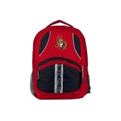 f58d3a85cf1 Ottawa Senators NHL Captain Backpack Ottawa, Household Items, Nhl,  Backpacks, Outdoor,