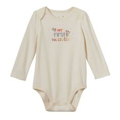 Baby Girl Jumping Beans® Halloween Bodysuit, Size: 24 Months, White Oth