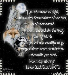 Native American Wolf Quotes Quote
