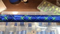 Custom Fishing Rods, Cool Wraps, Spinning Rods, Thread Art, Bait, Wrapping, Finding Yourself, Cool Stuff, Building