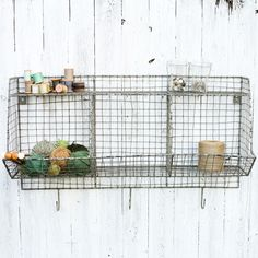Nkuku - Locker Room Storage Shelf - Distressed Grey