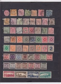 1028 Germany Wurtemberg MH Used Stamps Very Rare Unique HCV ££ 1919 Great Lot