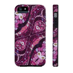 Pink Purple Abstract Phone Case