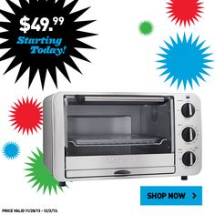 Lowe's Black Friday values are available online now! Shop this toaster and other small appliances.