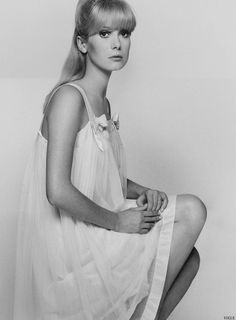 Catherine Deneuve by David Bailey for Vogue, 1966
