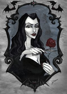 Various Addams Family pieces by Iren Horrors addams family | Tumblr