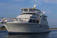 1999 Hatteras 52' Sport Deck Motor Yacht Power Boat For Sale
