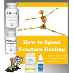 Speeding bone fracture healing on your way to renewing healthy bones is discussed by Better Bones.