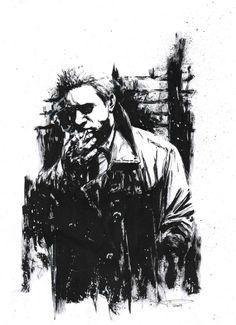 Hellblazer commission by Leo Manco.