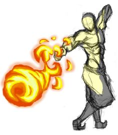 Firebending Punch