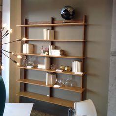 Nice see-through bookshelf at Design Within Reach