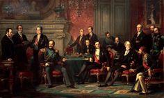 Pour mettre fin à la guerre de Crimée, un congrès fut convoqué à l'initiative de Napoléon III à Paris du 27 février au 8 avril 1856. L'empereur apparut alors comme l'arbitre de l'Europe et ce fut pour lui une revanche sur le congrès de Vienne de 1815. Il réunit les ministres des Affaires étrangères de la Russie, de la Turquie, de la Grande-Bretagne, du Piémont-Sardaigne, de l'Autriche et de la Prusse sous la présidence du ministre français Walewski. Les décisions prises furent l'objet d'un…