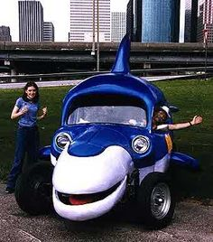 Funny automobile - Dusty Dave the Dolphin is a 1972 Volkswagon Bug Strange Cars, Weird Cars, Crazy Cars, Ferdinand Porsche, Volkswagon Bug, Cute Cars, Funny Cars, Pretty Cars, Pt Cruiser