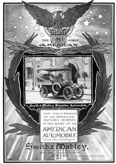 1904 Smith and Mabley Simplex Automobile Advertisement