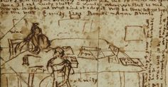 Dos imágenes del diario de Emily Brontë