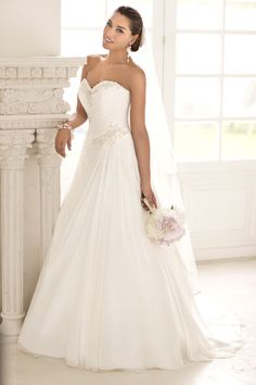 I really like this Wedding Dresses by Stella York – Part 2