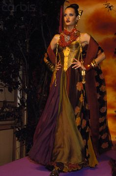 Christian Lacroix Autumn-Winter 1992-1993 Fashion Show