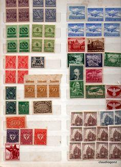 Selos Alemanha Reich sem carimbo 4