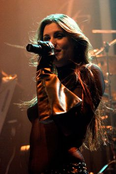 Floor Jansen  (After Forever, ReVamp, Nightwish touring/live)