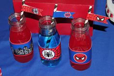 Hayden's Spiderman Party | CatchMyParty.com