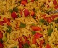 Rezept Kritharaki Salat mit Curry von T.schään - Rezept der Kategorie Vorspeisen/Salate