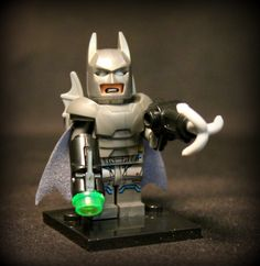 Battle Armor Batman Custom DC Minifigure Superhero from Batman vs. Superman. Lego Compatible. by AwesomeBrix on Etsy