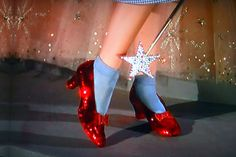 There's no shoe like those, except for the seven pairs made for the film, of which only four remain