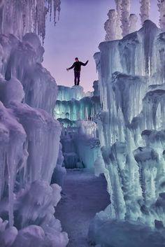 Ice #Castle in Silverthorne, #Colorado #adventure definitely going to Colorado!