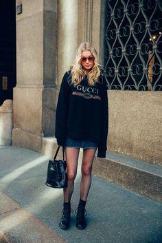 Model's Look MFW Fall Winter 2017/18 - NATALIYA BULYCHEVA