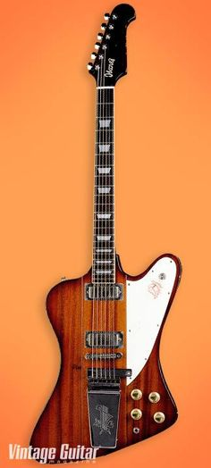 Ibanez '70s copy era guitars proved to other guitar manufacturers there was a market for reissue models. This 1976 Model 2348 Firebrand copy of a Firebird is a great example.
