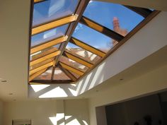Wooden roof lanterns= sophistication + luxury