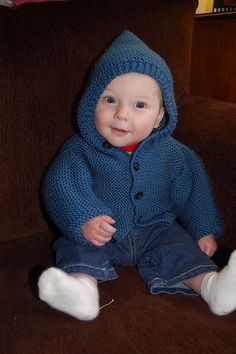 Free knitting pattern for Storybook Baby Hoodie - Hoodie cardigan in baby and child sizes from Lion Brand Yarn. All pieces are worked flat in garter stitch (knit every row). Baby Knitting Patterns, Crochet Baby Cardigan Free Pattern, Crochet Hoodie, Baby Patterns, Free Knitting, Crochet Cardigan, Lion Brand Patterns, Kids Knitting, Crochet Jacket