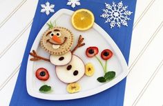 Frozen-Inspired Olaf Food Art + More Kids in the Kitchen Fun at B-Inspired Mama