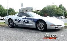 2003 Corvette Z06 Seized by Greenville Police is the Department's Fastest Police Cruiser