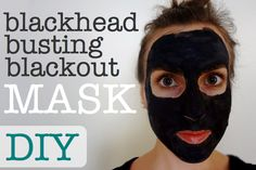 DIY blackhead mask- this mask is awesome! Easy to find products at whole foods store. Super simple to make and some of my blackheads seem to have vanished and my pores are noticeably smaller. Doing this again!
